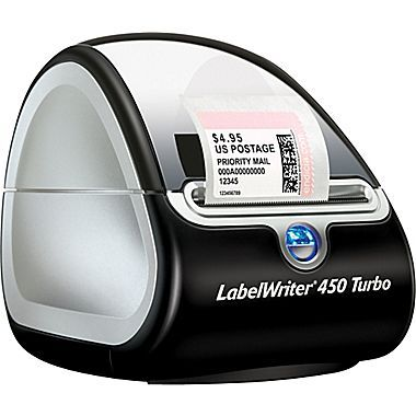 DYMO LabelWriter 450 Turbo Label Printer, 71 Labels/min