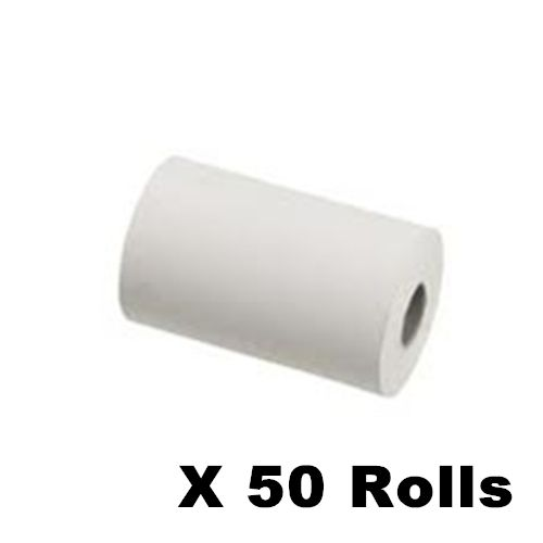 Thermal POS Paper Rolls 2 1/4 Inch x 60', Diameter: 1 1/2 Inch, Pack of 50  Rolls