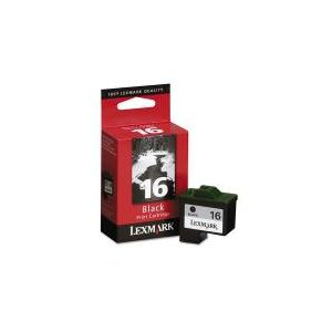 Lexmark 10N0016 Black Original Ink Cartridge (Lexmark No.16)