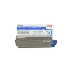 Okidata 43865719 Cyan Original Toner Kits for Okidata C6150/MC560