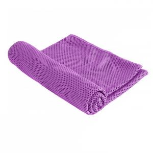 Magic Cooling UV Protection Cooling Towel - Purple