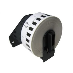 Brother DK2210 Medium Width Tape Continuous Labels 1.1 in x 100 ft. ( 29mm x 30.4m ),Compatible