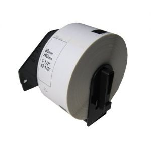 Brother DK1208 Large Address Paper Die-Cut Label 1.4 in x 3.5 in (38 mm x 90.3 mm) 400 Labels Per Roll, Compatible