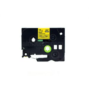 Brother TZe-631 12mm (0.5 Inch), Length of 8M, Black on Yellow Compatible Label Tape