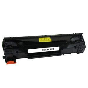 Canon 128 Black Toner Cartridge, Compatible, 3500B001AA Extra High Yield 3000 Pages