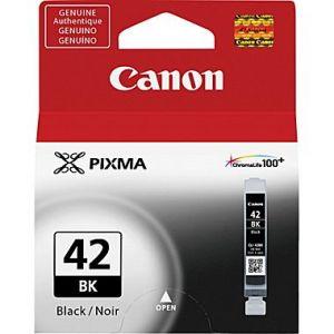 Canon CLI-42BK Original Black Ink Cartridge for the PIXMA PRO-100 (6384B002)