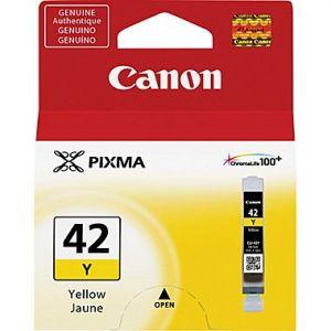 Canon CLI-42Y Original Yellow Ink Cartridge for the PIXMA PRO-100 (6387B002)