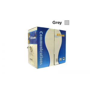 1000Ft Box Grey Cat5e Networking Cable