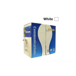 1000Ft Box White Cat5e Networking Cable