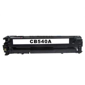 HP CB540A Toner Cartridge, HP 125A, Black, Compatible
