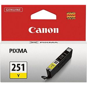 Canon CLI-251 Original Yellow Ink Tank,Standard-Yield (6516B001)