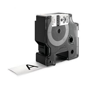 Dymo Rhino 1805443 Compatible White Heat Shrink Tubing, 24mm, Black Text