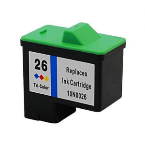 Lexmark 10N0026 Color Compatible Ink Cartridge (Lexmark No.26)