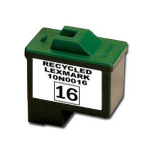 Lexmark 10N0016 Black Compatible Ink Cartridge (Lexmark No.16)
