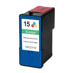 Lexmark 18C2110 Color Compatible Ink Cartridge (Lexmark #15)