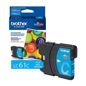 Brother LC61C OEM Cyan Ink Cartridge