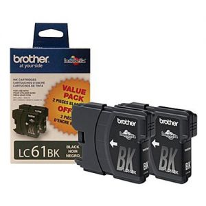 Brother LC612PKS OEM Black INK CARTRIDGE ( Twin Packs )
