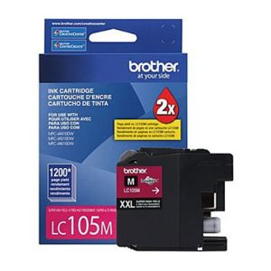 Brother LC105MS OEM Magenta Ink Cartridge  Super High Yield