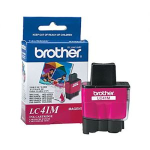 Brother LC41M OEM Magenta Ink Cartridge