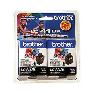 Brother LC412PKS OEM Black INK CARTRIDGE ( Twin Packs )