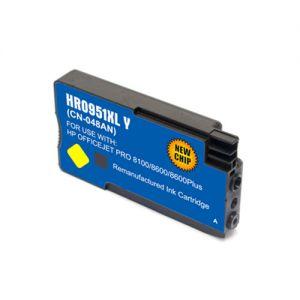 HP CN048AN Yellow Compatible Ink Cartridge High Yield, HP 951XL