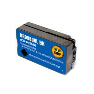 HP CN045AN Black Compatible Ink Cartridge High Yield, HP 950XL