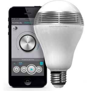 MiPow BTL100 WH PlayBulb LED with Speaker White