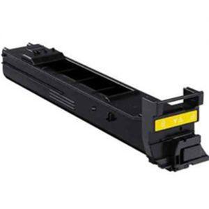 Konica-Minolta A0DK232 Yellow Compatible Toner Cartridge