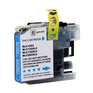 Brother LC105 Cyan Compatible Ink Cartridge Super High Yield