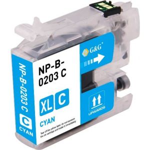 Brother LC203 C Cyan Compatible Ink Cartridge High Yield