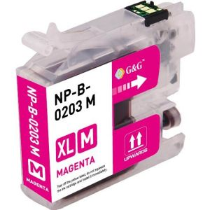 Brother LC203 M Magenta Compatible Ink Cartridge High Yield