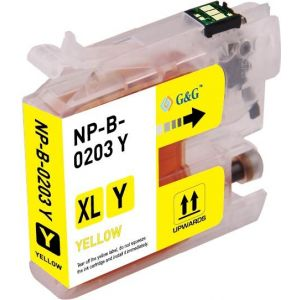 Brother LC203 Y Yellow Compatible Ink Cartridge High Yield