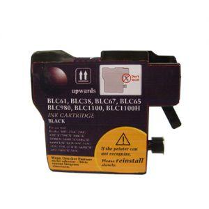 Brother LC61 Black Compatible Ink Cartridge