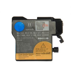 Brother LC61C Cyan Ink Cartridge, Compatible