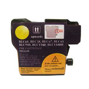 Brother LC61 Yellow Compatible Ink Cartridge