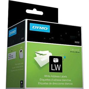 DYMO  LabelWriter 30252 Address Labels, 1-1/8 Inch x 3-1/2 Inch