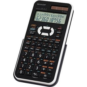 Sharp EL-520XB-WH Scientific Calculator
