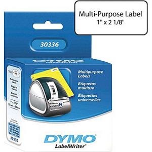 DYMO  LabelWriter 30336 Multipurpose Labels, 1 Inch x 2-1/8 Inch