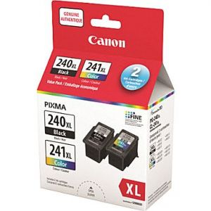 Canon PG-240XL BLACK and CL-241XL COLOR Original Ink Value Pack