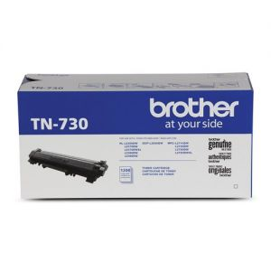 Brother Original TN730 Black Toner Cartridge for MFCL2750DW, DCPL2550DW, MFCL2730DW, and MFCL2710DW, OEM