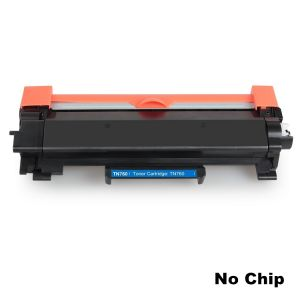 Brother TN760 Black Toner Cartridge, High Yield for TN730, Compatible - No Chip