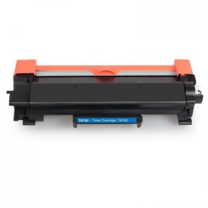 Brother TN760 Black Toner Cartridge, High Yield for TN730, Compatible - With Chip