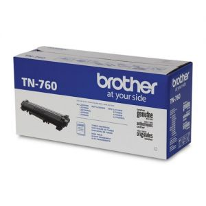 Brother Original TN760 Black High Yield Toner Cartridge for MFCL2750DW, DCPL2550DW, MFCL2730DW, and MFCL2710DW, OEM