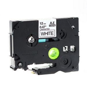 Brother TZe-231 P-Touch Label Tape tze231 , 12mm (0.5 in), Length of 8M, Black on White, Compatible